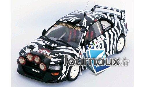 Subaru Impreza WRC, No.38, Rallye WM, Rally Portugal - 2001