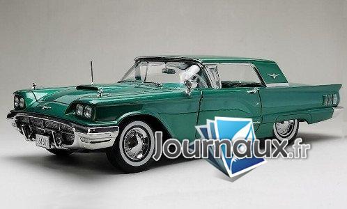 Ford Thunderbird toit amovible Coupe, metallic-grün - 1960
