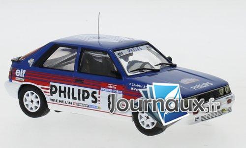 Renault 11 Turbo, No.8, Philips, Rallye WM, Tour de Corse - 1987