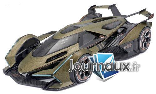 Lamborghini Vision Gran Turismo V12, matt-oliv/Dekor