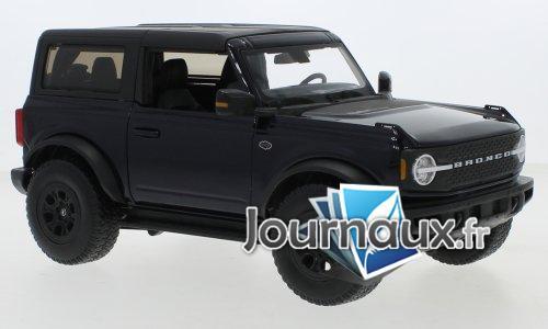 Ford Bronco Wildtrak, metallic-dunkelblau/mat- noir - 2021