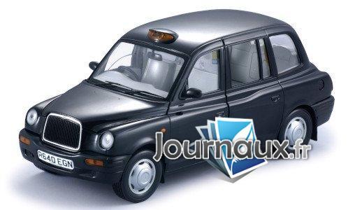 LTI TX1, noire, RHD, Taxi (GB) - 1998