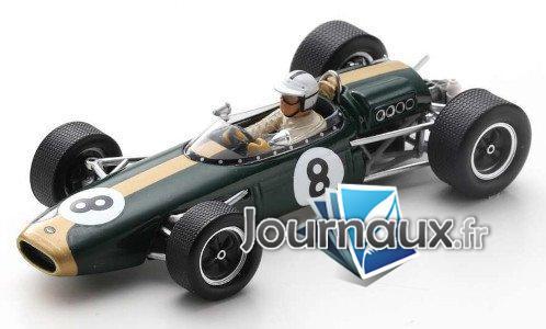 Brabham BT22, No.8, Brabham Racing Organisation, Formel 1, GP Monaco - 1966