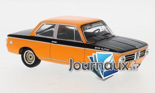 BMW Alpina 2002 Tii, orange/noire - 1972