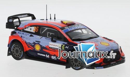 Hyundai i20 Coupe WRC, No.6, Rallye WM, Rallye Sardinien - 2020