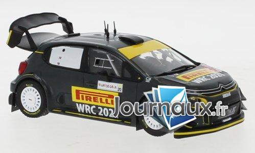 Citroen C3 WRC, Rallye WM, Rallye Sardinien - 2020