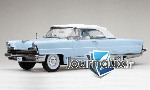 Lincoln Premiere Convertible, bleu clair/blanc - 1956
