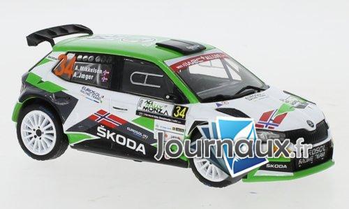 Skoda Fabia R5 Evo, No.34, Rallye WM, Rallye Monza - 2020