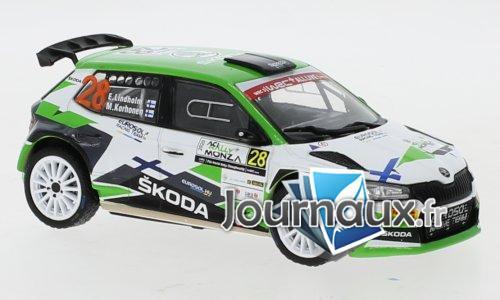 Skoda Fabia R5 Evo, No.28, Rallye WM, Rallye Monza - 2020