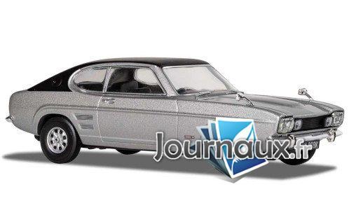 Ford Capri MkI 3000E, silber/mat- noir, RHD - 1970