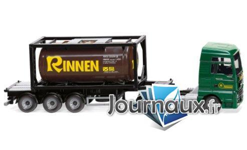 MAN TGX Euro 6c, Rinnen