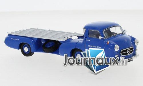 Mercedes voiture de course-Schnelltransporter, Das blaue Wunder - 1955
