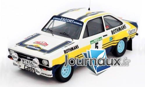 Ford Escort MkII, No.5, Rothmans, Rally WM, Rally Portugal - 1979