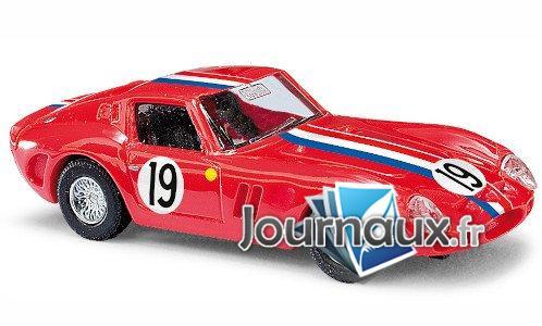 Ferrari 250 GTO, rot/Décorer, No.19
