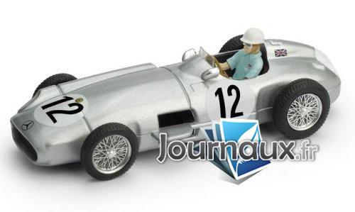 Mercedes W196, No.12, Formel 1, GP Großbritannien - 1955