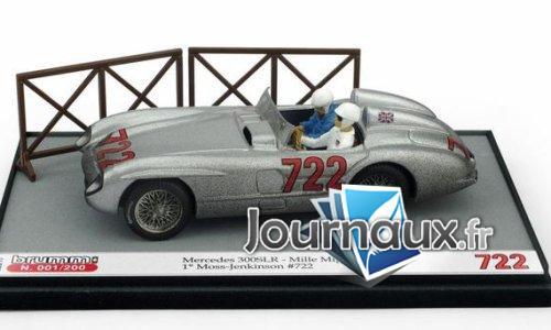 Mercedes 300 SLR, No.722, Mille Miglia - 1955