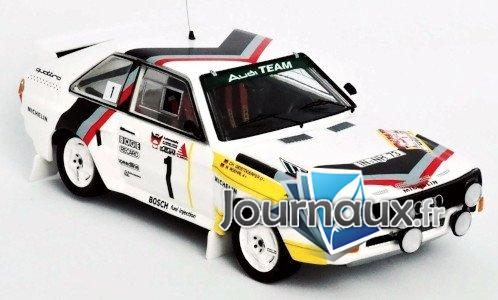 Audi Sport quattro, No.1, Audi Team, Rally DM, 3 Städte Rally - 1984