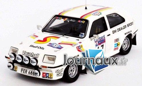 Vauxhall Chevette HSR, RHD, No.17, GM Dealer Sport, Rally WM, RAC Rally - 1983