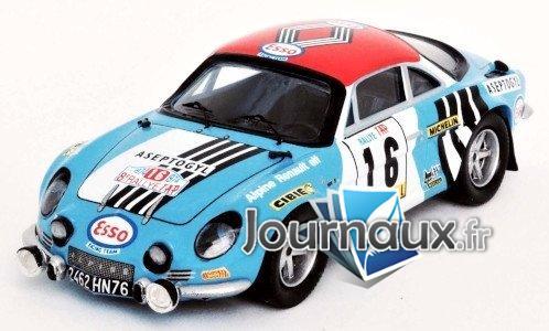 Alpine Renault A110, No.16, Esso, Rally WM, Rally Portugal - 1974