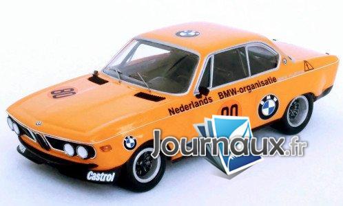 BMW 2800 CS, No.80, BMW Alpina, Zandvoort - 1972