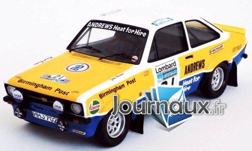 Ford Escort MkII RS 1800, RHD, No.21, Andrews, Rallye WM, RAC Rally - 1975