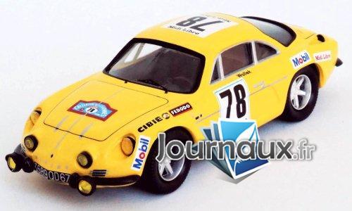 Alpine Renault A110, No.78, Midi Libre, Criterium des Cevennes - 1969