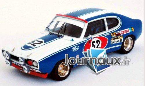Ford Capri MkI 2600 RS, No.52, Ford Motor Company Allemagne, 24h Le Mans - 1972