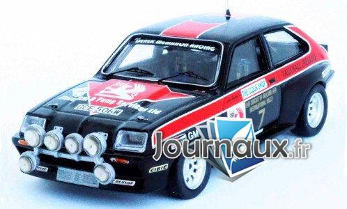 Vauxhall Chevette HSR, RHD, No.7, Circuit of Irland - 1981