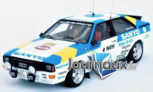 Audi quattro, No.4, Sanyo, Rallye WM, Rallye Schweden - 1982