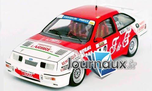 Ford Sierra RS Cosworth, No.43, Rallye WM, Rally Monte Carlo - 1988