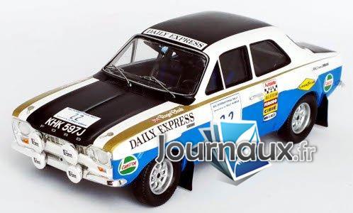 Ford Escort MkI RS 1600, No.22, Daily Express, RAC Rallye - 1970