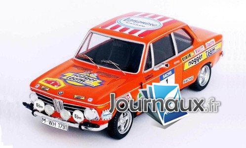 BMW 2002 ti, No.1, Nogger Team Hamburg, Langnese, Rallye DM, Rally Trifels - 1973