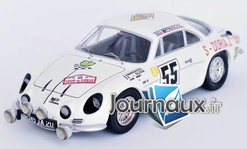 Alpine Renault A110, No.55, Tour de Corse - 1969
