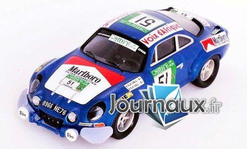 Alpine Renault A110, No.51, Rallye WM, Rallye Bandama - 1977