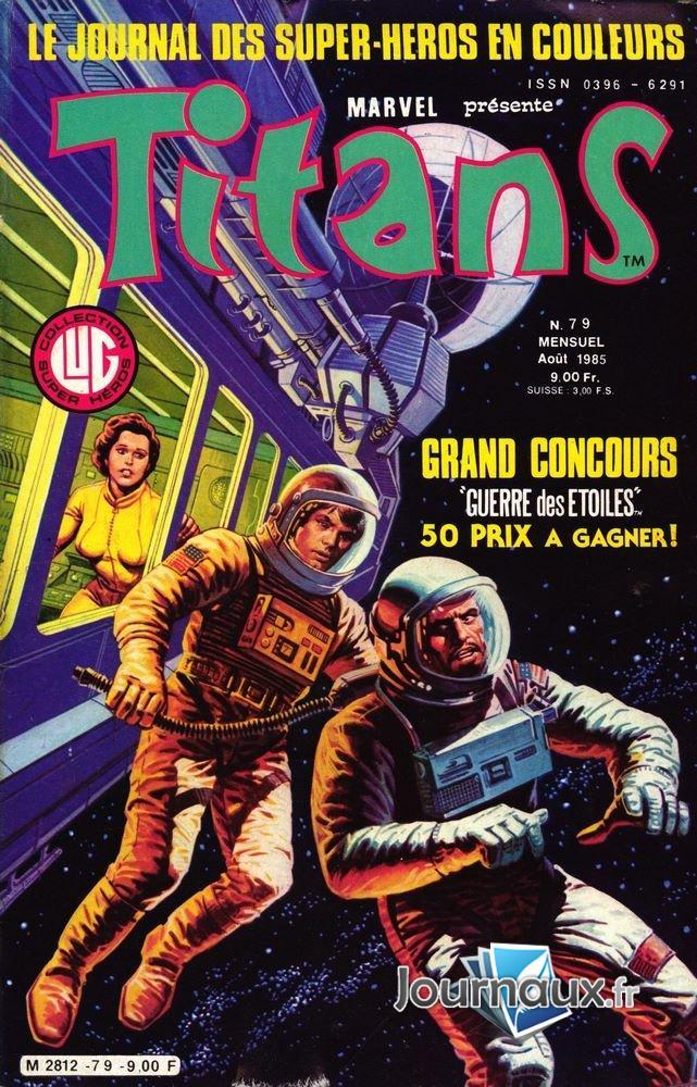 Titans du 08-1985