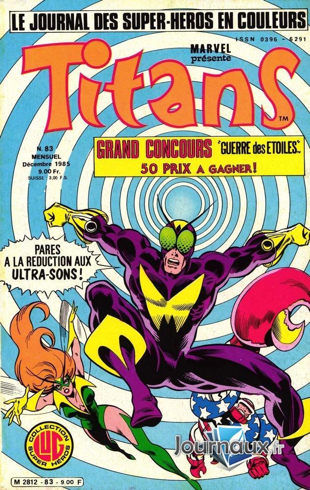 Titans du 12-1985