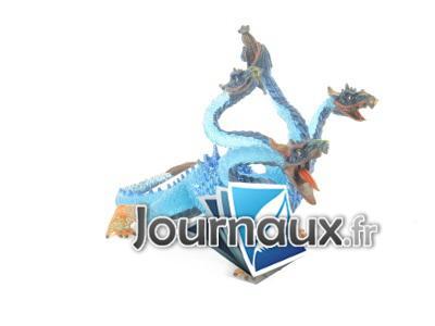 L'Hydre Translucide bleue