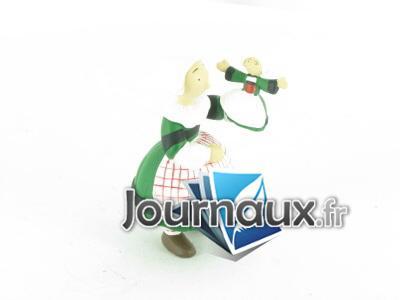 Bécassine avec une marionnette