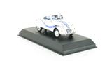 Citroen 2 cv cabriolet Azelle 1990 white with blue deco
