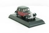 Citroën 11 Légère Coupé de Ville 1935 Dark Red & Black
