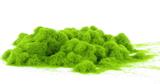 Fibres d'herbes vert clair