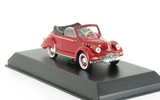 Panhard Dyna x Cabriolet 1951 Red