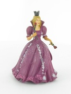 Princesse aux roses (Robe rose)