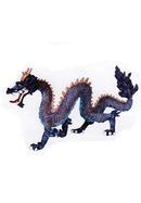 Dragon chinois bleu
