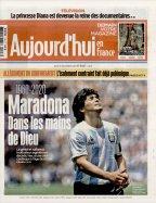 Aujourd'hui en France Maradona