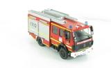Le LF 16/12 Ziegler-Mercedes Armé par les pompiers Volontaires de la ville de Kaufbeuren en Bavière