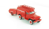 La Camionette d'Incendie Dodge WC et sa Motopompe Camiva de Saint-Trivier-de-Courtes