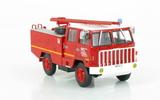 Le Fourgon-Pompe Tonne Léger Camiva sur Berliet FF 4x4