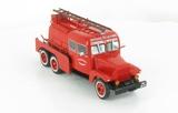 Le Camion Citerne Lourd Pour feux de Forêts Merceron sur GMC à cabine Double de Limoges