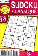 Sudoku Classique Niv 5 à 7